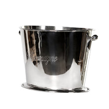NICKEL CHAMPAGNE COOLER STYLE CONTAINER