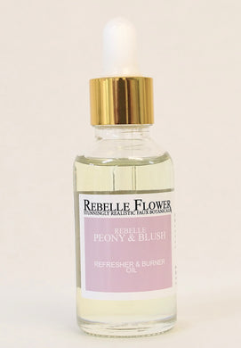 PEONY & BLUSH FAUX FLOWER REFRESHER & BURNER OIL