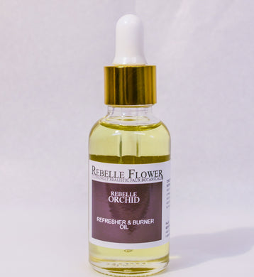 REBELLE ORCHID FAUX FLOWER REFRESHER & BURNER OIL