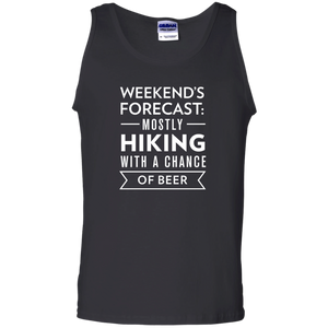 Weekend's Forecast: Hiking With a Chance Of Beer Tank Top (Men's)