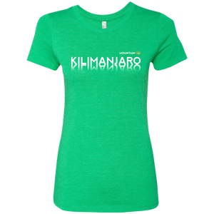 Kilimanjaro Women's T-Shirt (Cotton/Wicking)
