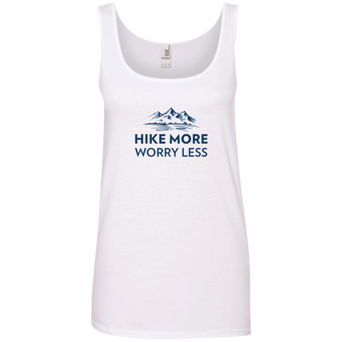 Hike More, Worry Less Tank Top (Women's)