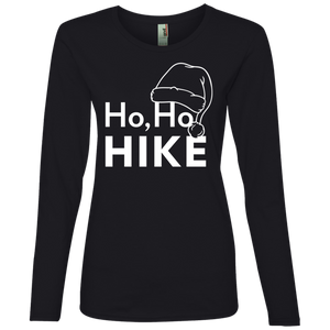 Ho Ho Hike Long Sleeve Top For Women (Choose Color)