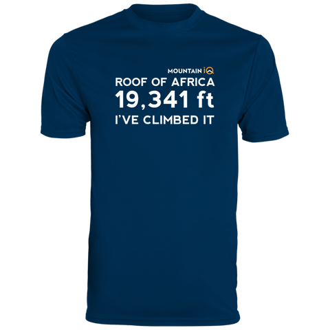 Kilimanjaro Height in Feet Men's T-Shirt (Cotton/Wicking)