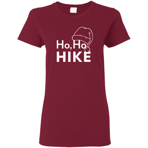 Ho Ho Hike T-Shirt For Women (Choose Color)