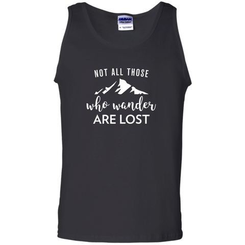 Not All Who Wander Are Lost Tank Top (Men's)