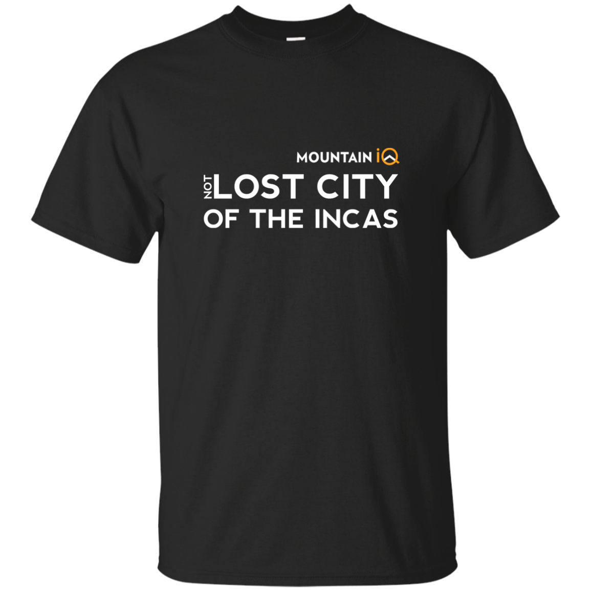 (Not)Lost City of the Incas Men's T-Shirt (Cotton/Wicking)