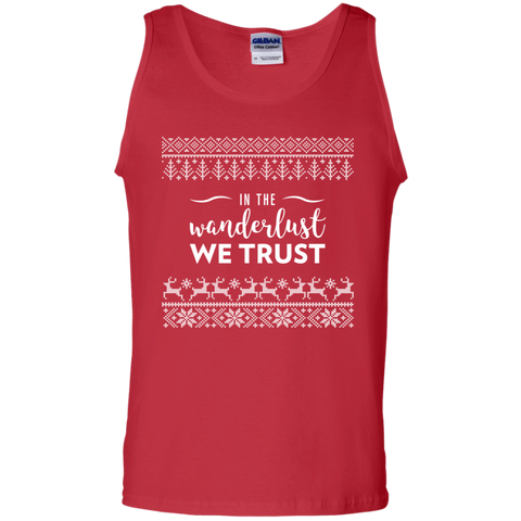 In The Wanderlust We Trust Tank Top (Men's)