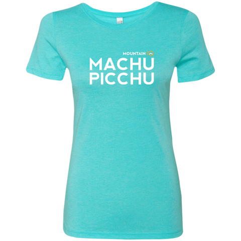 Machu Picchu Women's T-Shirt (Cotton/Wicking)