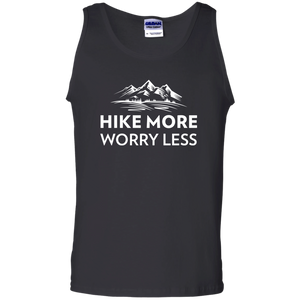Hike More, Worry Less Tank Top (Men's)