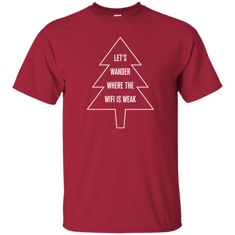 Christmas Tree T-Shirt For Men (Choose Color)