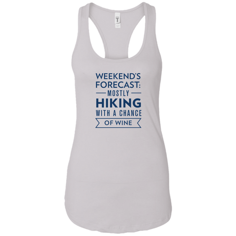 Weekend's Forecast: Hiking With A Chance On Wine Tank Top (Women's)