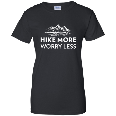 Hike More, Worry Less T-Shirt (Women's)