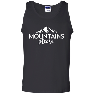 Mountains, Please Tank Top (Men's)
