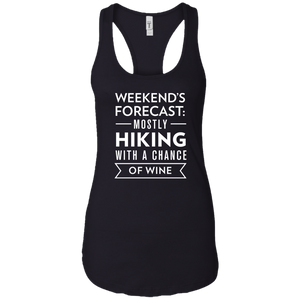 Weekend's Forecast: Hiking With a Chance Of Wine Tank Top (Women's)