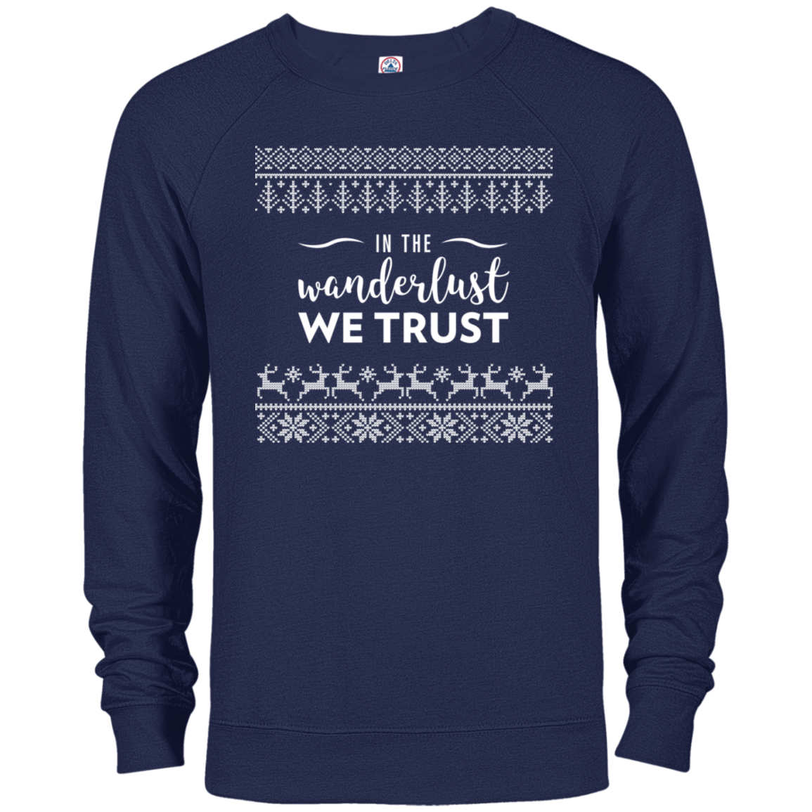 In Wanderlust We Trust Long Sleeve Top (Men's)