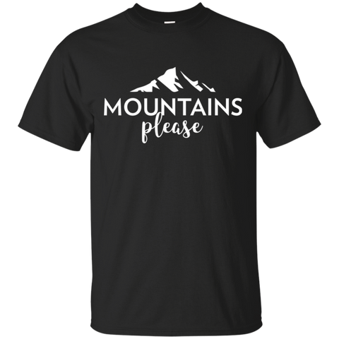 Mountains, Please T-Shirt (Men's)