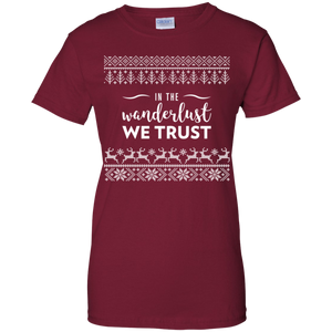 In The Wanderlust We Trust T-Shirt (Women's)