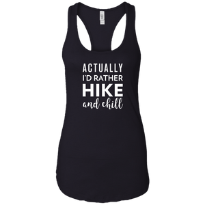 I'd Rather Hike & Chill Tank Top (Women's)
