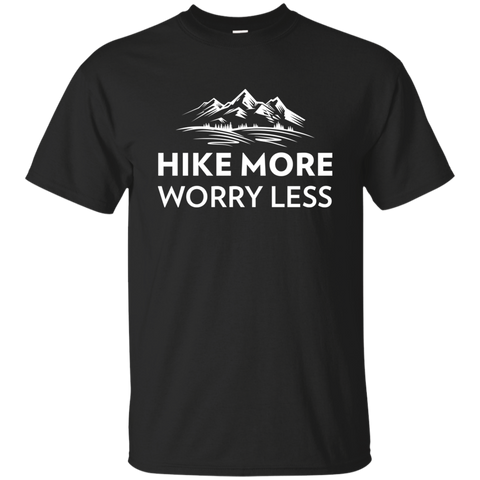 Hike More, Worry Less T-Shirt (Men's)