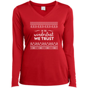 In The Wanderlust We Trust Long Sleeve (Women's)