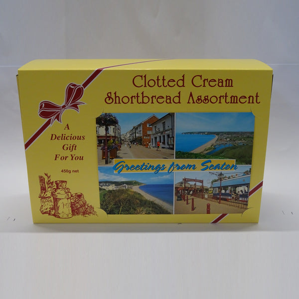 Clotted Cream Shortbread Assortment 450g
