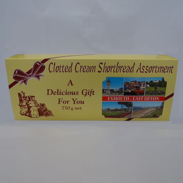 Clotted Cream Shortbread Assortment 750g