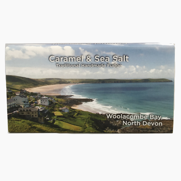 Caramel & Seasalt Gourmet Fudge 150g