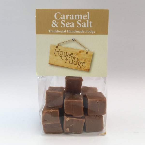 Caramel & Seasalt Fudge Bag