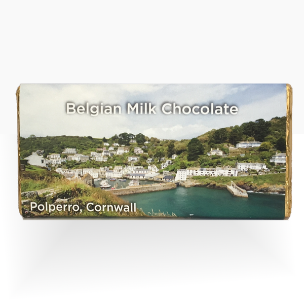 White Chocolate Bar Location Gift