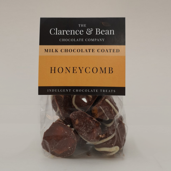 Milk Chocolate Coated Honeycomb