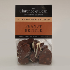 Milk Chocolate Coated Peanut Brittle