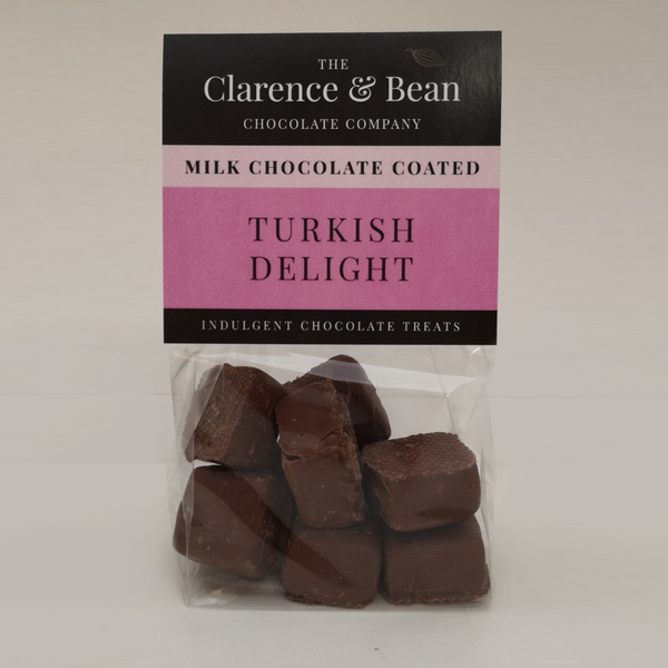 Milk Chocolate Coated Turkish Delight