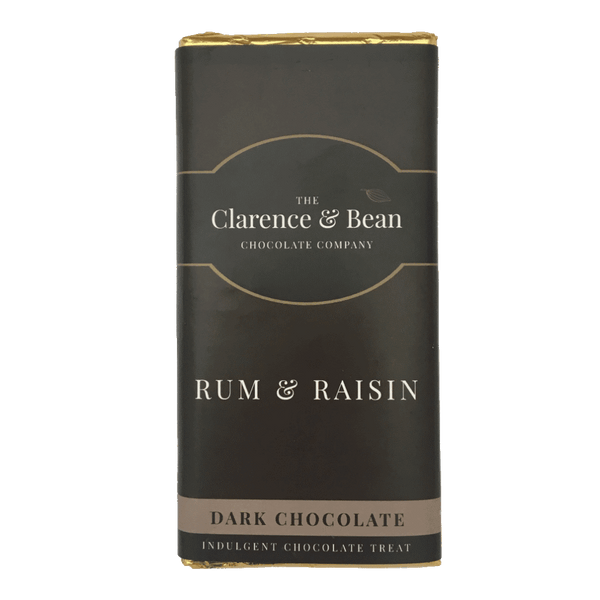 Rum & Raisin Dark Chocolate Bar