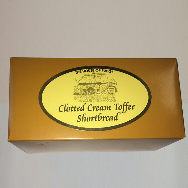 Toffee Clotted Cream Shortbread Retail