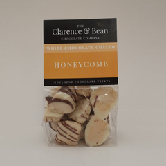 White Chocolate Coated Honeycomb