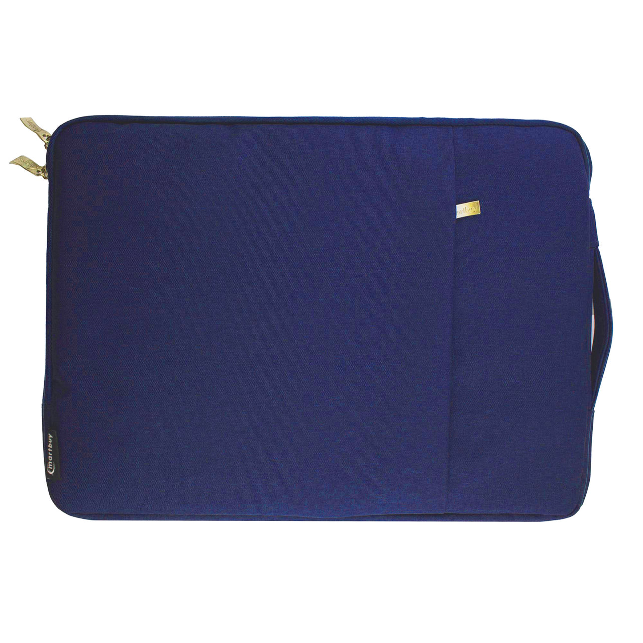 Fabric Zipper Sleeve - Blue