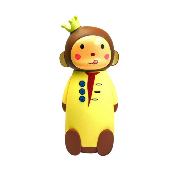 Crown Monkey Flask - Yellow