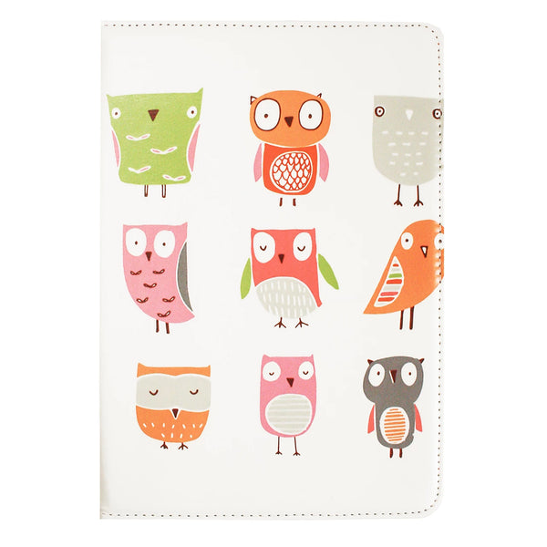 Universal Tablet Case - Owls