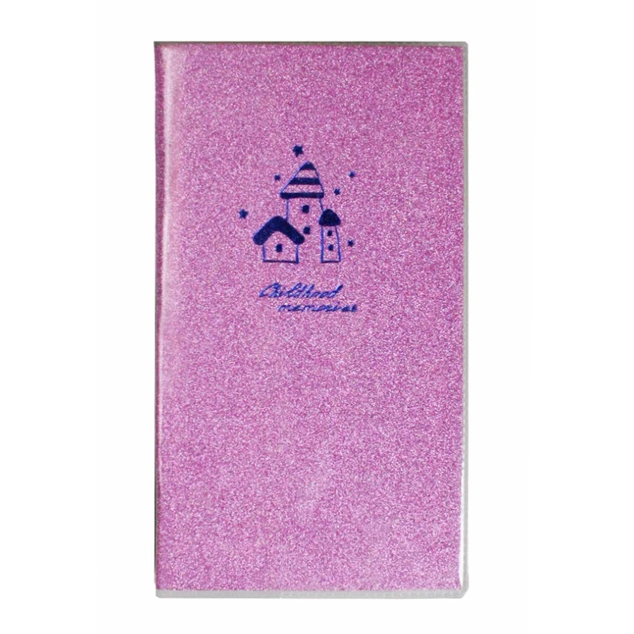 Pink Glitter Pocket Size Lined Notebook