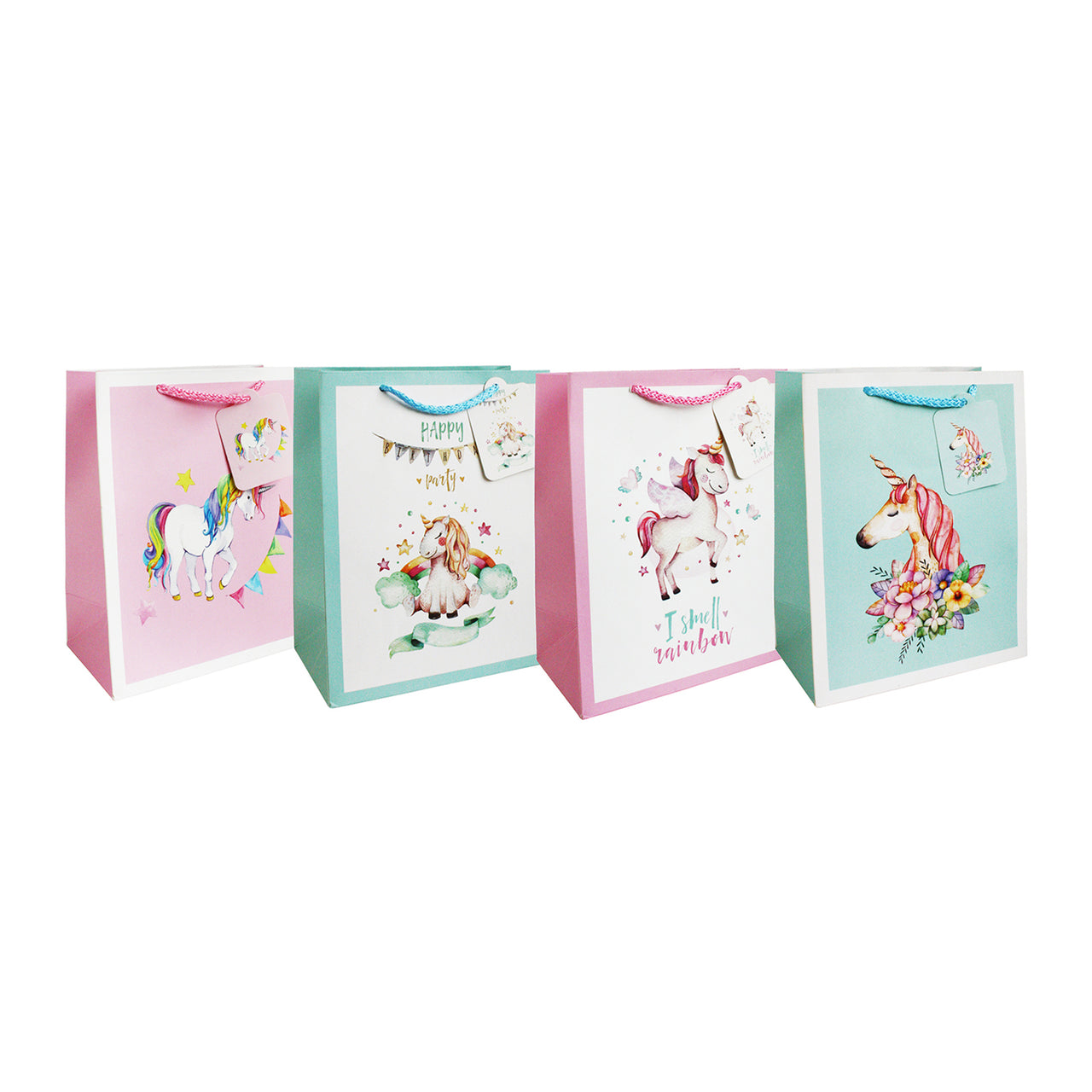 Unicorn Gift Bag - Set of 4
