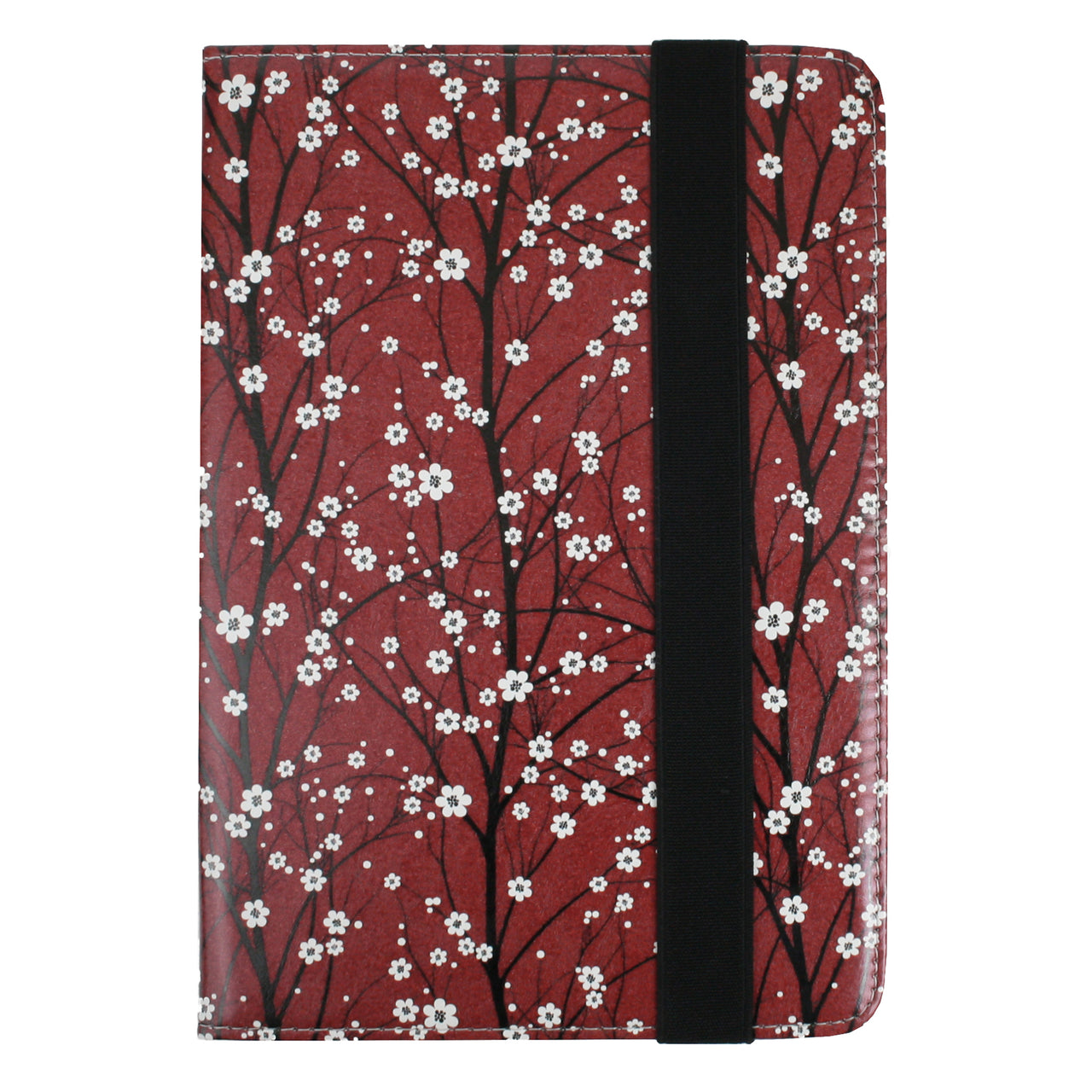 Universal Tablet Case - Red Flower