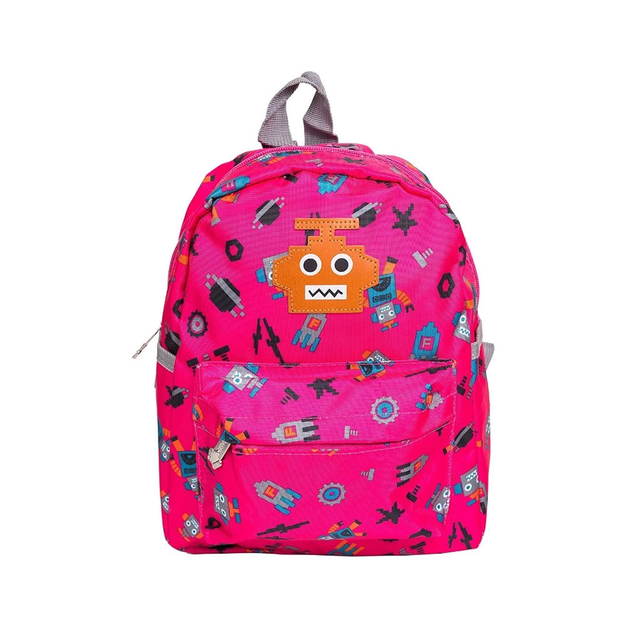 Robots Backpack - Pink