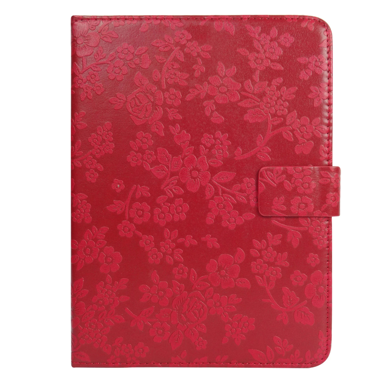 Universal Tablet Case - Red Vintage Floral