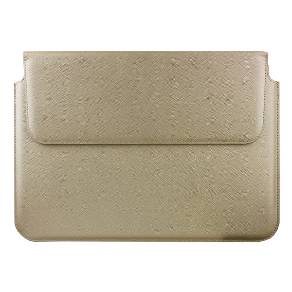 PU Leather Magnetic Folio - Gold