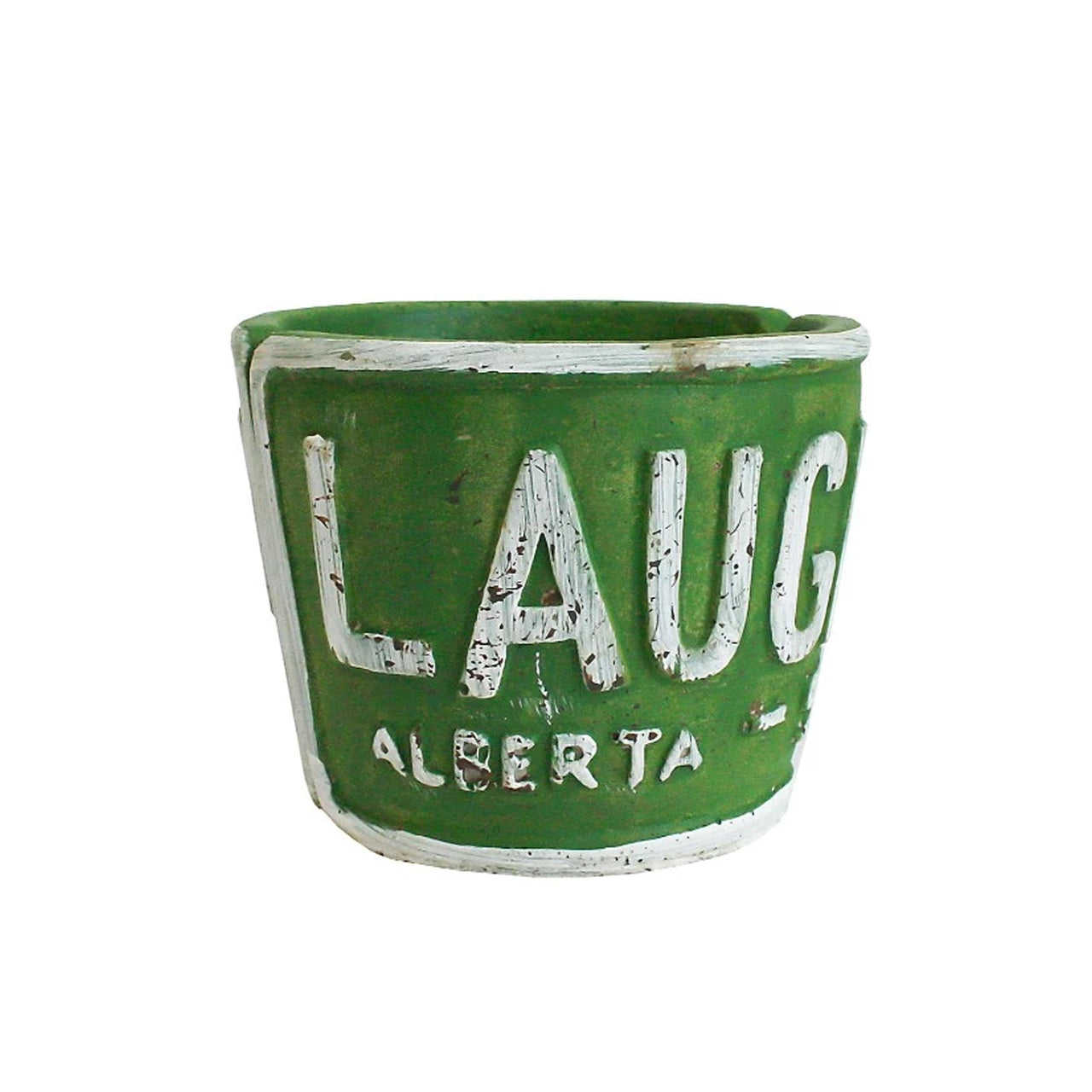 Laugh Planter - Green