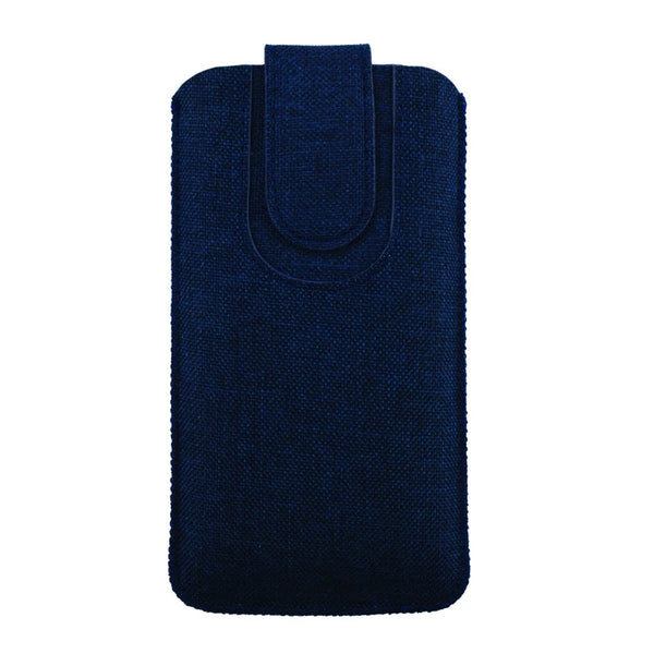 Universal Phone Pouch - Textured Dark Blue