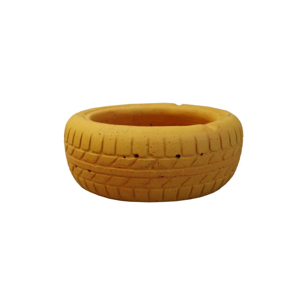 Tyre Planter - Yellow
