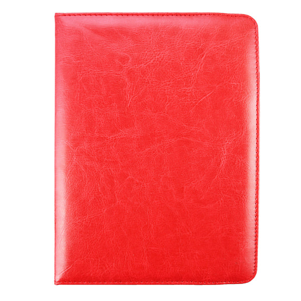 360° Rotating Universal Tablet Case - Red - EMARTBUY