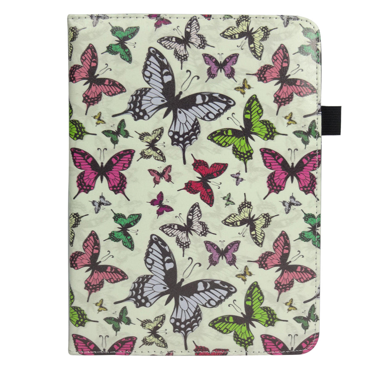 360° Rotating Universal Tablet Case - Butterflies - EMARTBUY